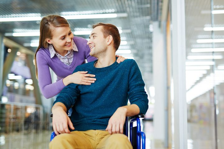 In love with handicapped man
